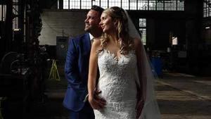 weddinglcip Nickey en Sabrine door bruiloft videograaf Marry U uit utrecht