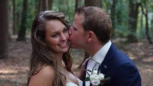 weddinglcip Bastiaan en Jo-ann door bruiloft videograaf Marry-U uit utrecht