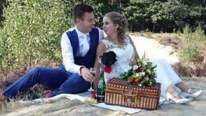weddinglcip Davey en Shelly door bruiloft videograaf Marry-U uit provincie utrecht